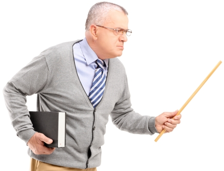 Angry Old White Man Still Trying to Dictate in a Hierarchy