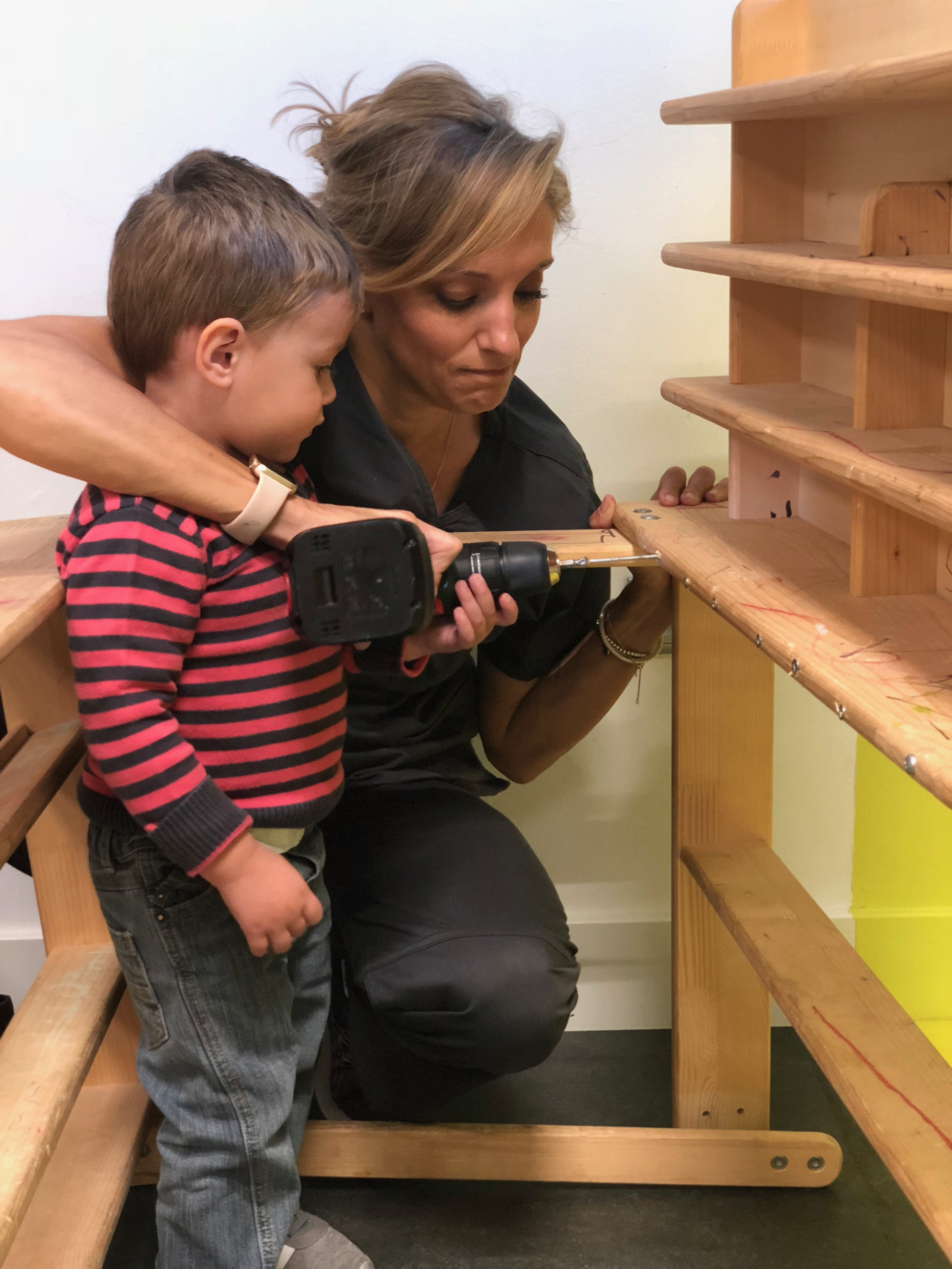 Mateo Learns About Dangerous Tools by DOING and we re convinced that he will be capable of home repairs before he turns 51
