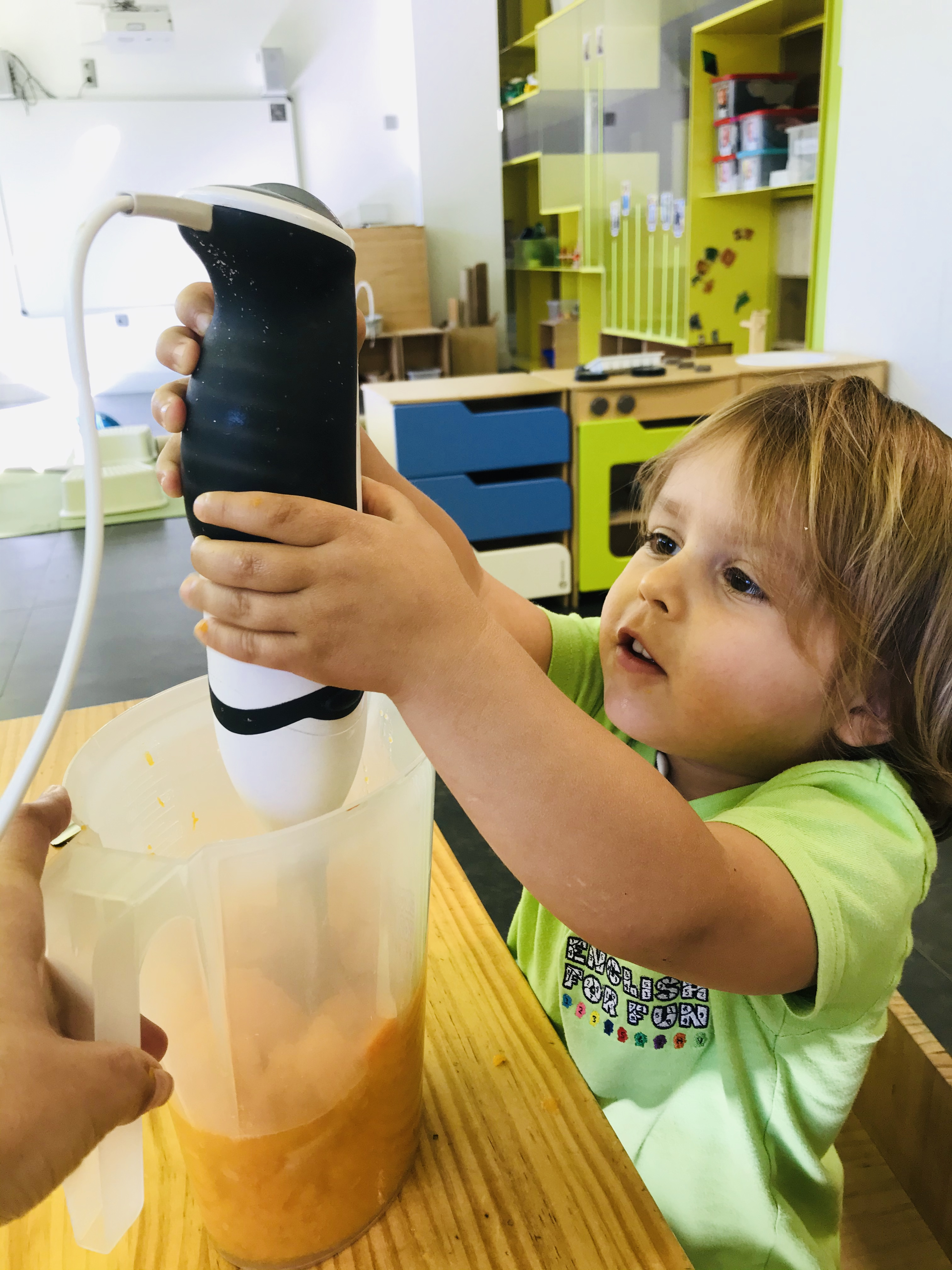 """Kids love to use machines and getting to touch """"grown up"""" tools makes them feel so important."""